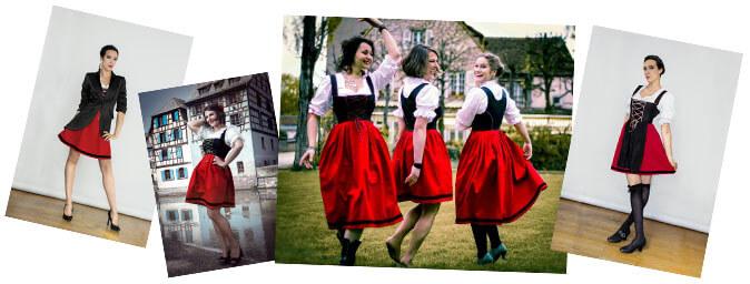 la mode en Alsace Geht's In
