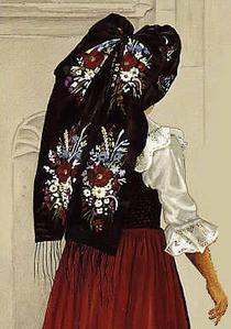 La coiffe alsacienne, un grand nœud noir ?