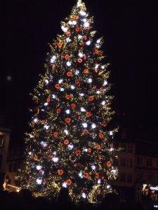 Le Grand Sapin de la place Kléber à strasbourg