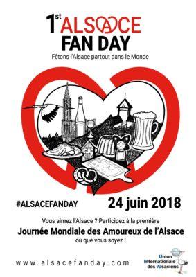Alsace Fan Day affiche