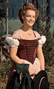 Romy Schneider en Dirndl dans le premier Sissi