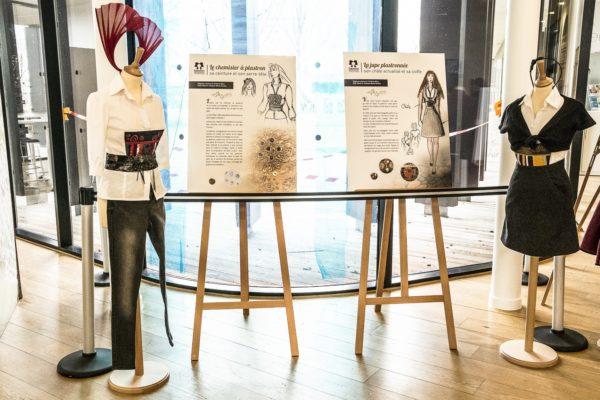 Elégance couture et Violaine Mary modiste, CP Patrick LAMBIN 2019