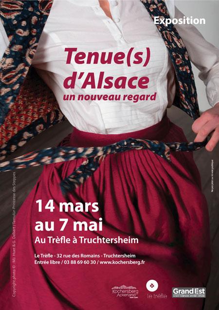 Exposition Tenues d'Alsace au Trèfle à Truchtersheim