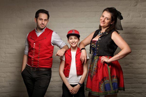 Kristen, Sarah-Anouche et Aniel, Le Printemps Geht's In, CP Faon Photography