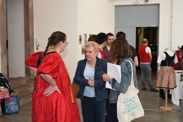 Madame Catherine Trautmann, Noémie Wolff et Rita TATAÏ- Printemps-Gehts-In-2018