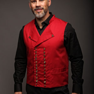 gilet alsacien rouge revisité by Geht's In CP Faon Photography