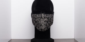 masque grand public gris foncé