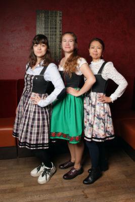 Aurélie, Ségolaine et Keiko, la team Geht's In